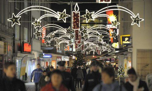 Foto: © Burkhard Všlz ( Voelz), Weihnachtsmarkt, Weihnachtsbeleuchtung, Eršffnung