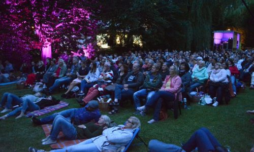 Picknick Open Air Kino Publikum