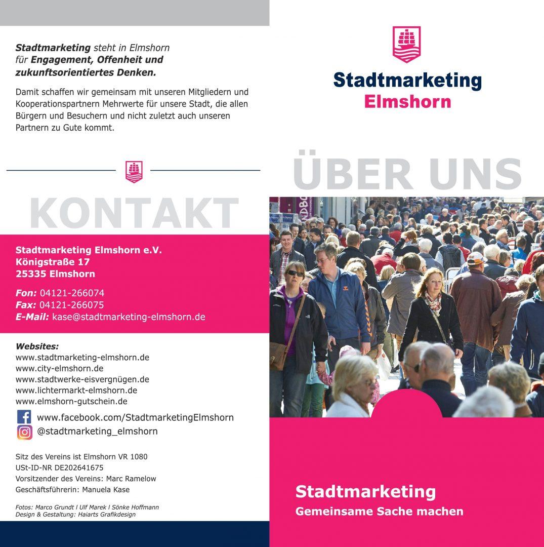 Vereinsbroschüre Stadtmarketing Elmshorn