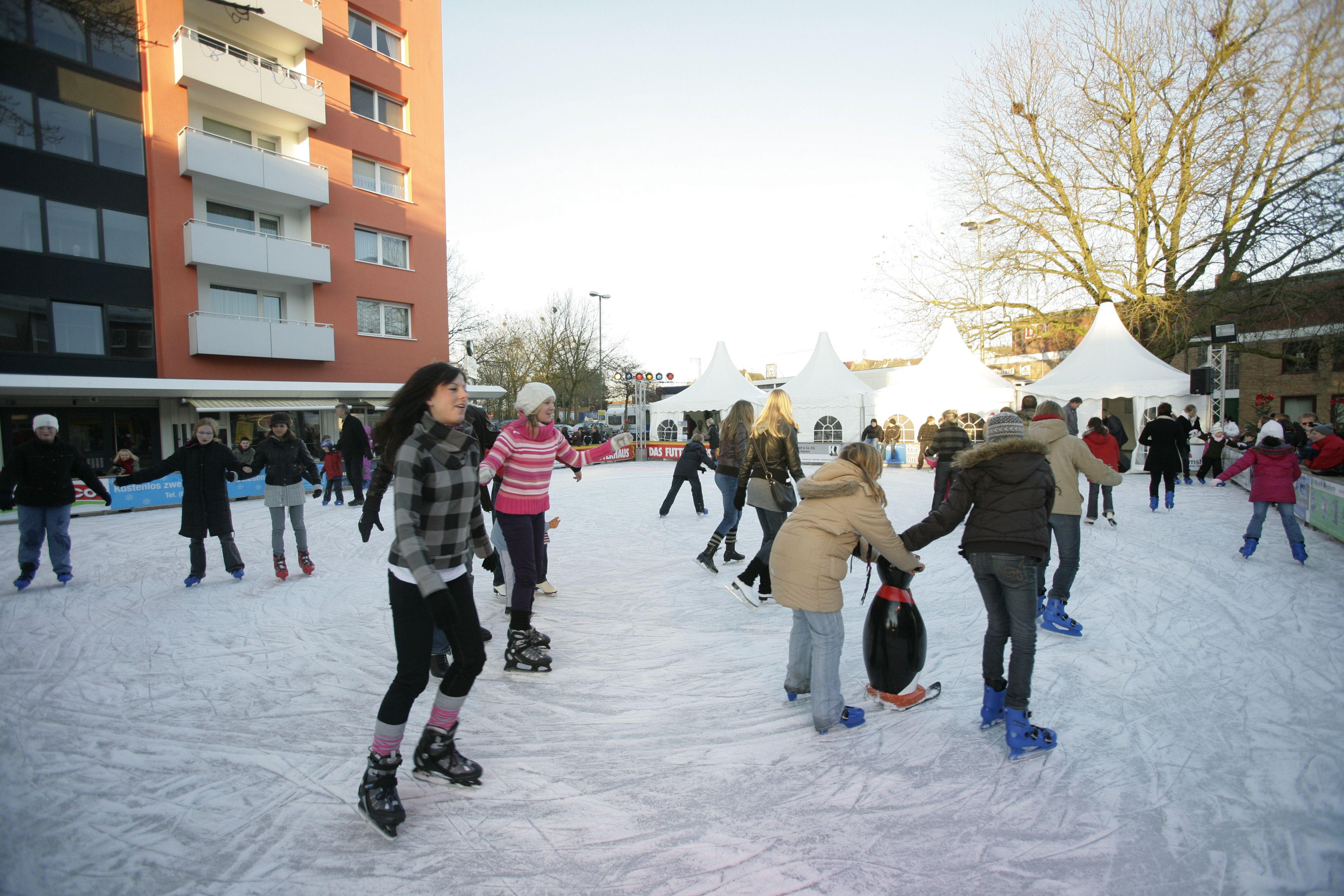 Stadtwerke Eisvergnügen Elmshorn, Holstenplatz © Marco Grundt