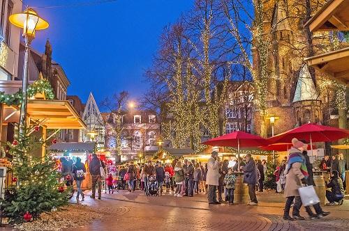 Lichtermarkt Elmshorn; Stadtmarketing Elmshorn; © Sönke Hoffmann