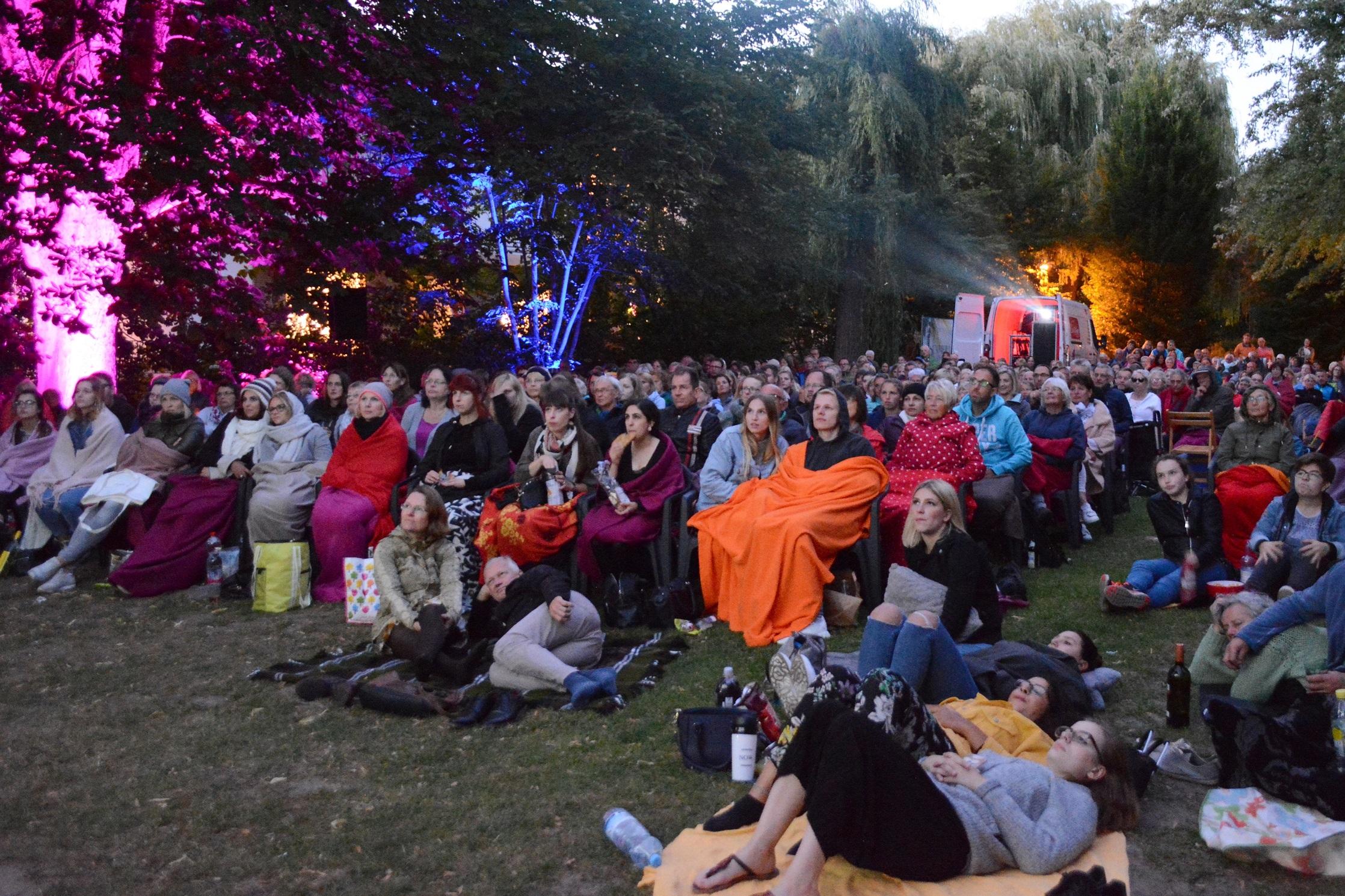 Picknick Open Air Kino Elmshorn 2018 © Ulf Marek