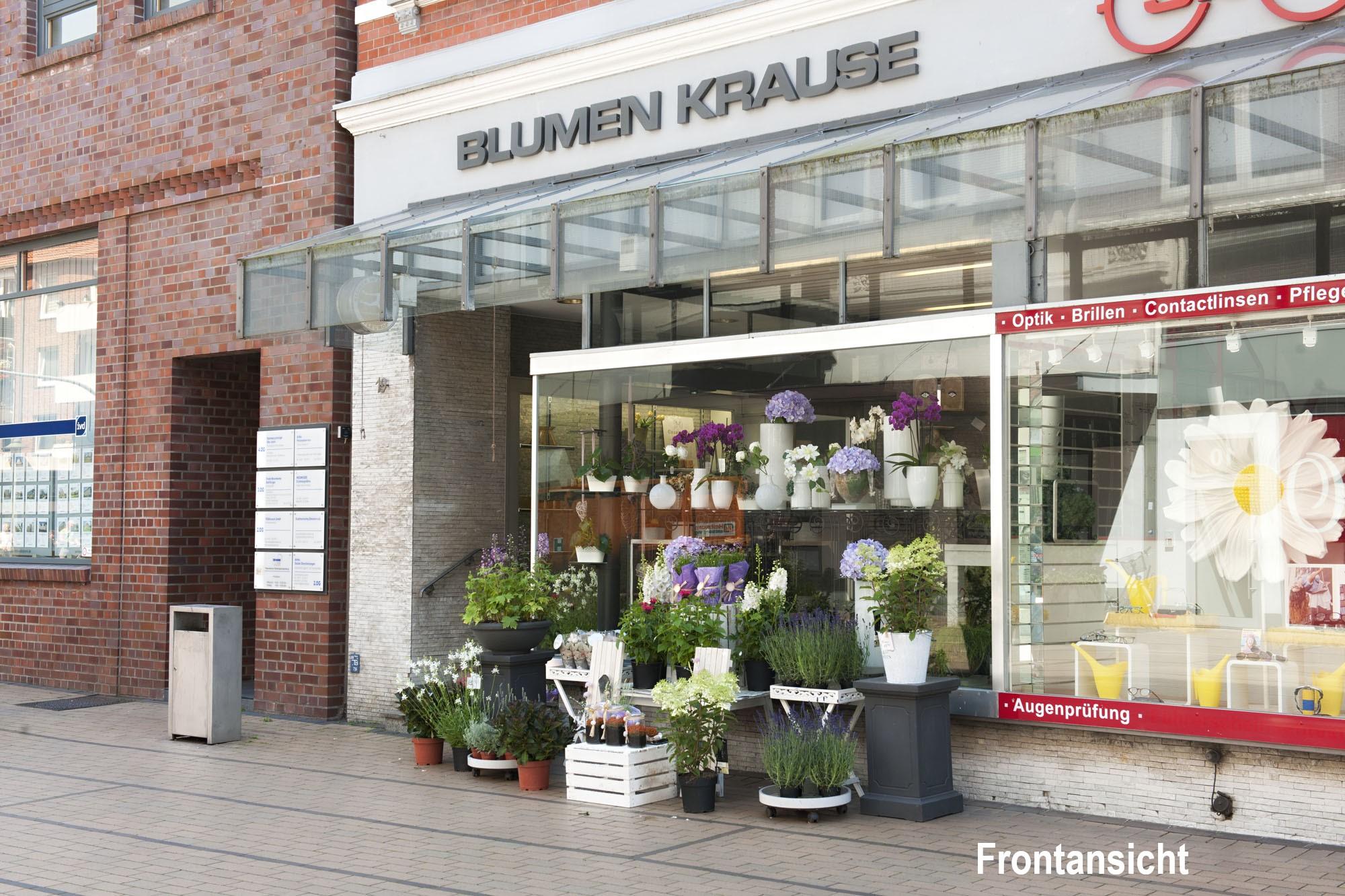 Außenansicht PopUp-Store Elmshorn