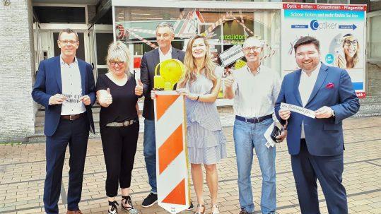 Pressetermin PopUp-Store Elmshorn; Stadtmarketing Elmshorn